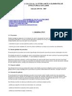 Ghid Pentru Calculul La Stări Limită a Elementelor Structurale Din Lemn Np019-97