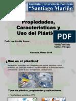 Caracteristicas, Propiedades y Uso Del Plastico