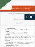 Tehnica Operatiunilor in Turism
