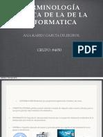 Terminologia Basica de La Informatica