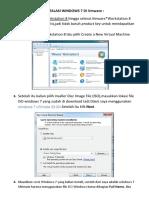 Langkah Langkah Instalasi Windows 7 Di Vmware
