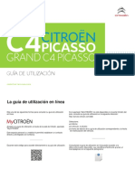 Manual Citroen C4 Picasso 2017