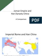 The Roman Empire and Han China