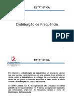 Estatistica - Distribuição de Frequência
