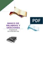 Banco de Palabras y Oraciones Por Letras Editable (1)