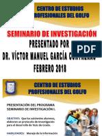 Seminario de Investigación Febrero 2018