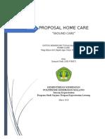 Proposal home care perawatan luka