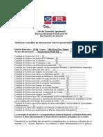Matriz Para Consolidar Las Informaciones Sobre La Operatividad de Los Centros de J.E.E