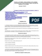 Normativ Privind Alcatuirea, Executarea Si Folosirea Cofrajelor Met Plane Pt Pereti Din Bet Monolit La Cladiri c162-73