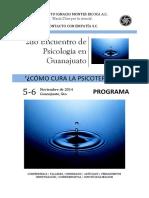 2do Encuentro de Psicología en Guanajuato