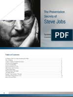 Go to Meeting Presentation Secrets of Steve Jobs