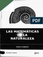 Las Matematicas de Las Naturaleza 1
