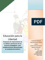 Educación Para La Libertad 2016 2018 Final 042016