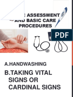 Basic Assessment and Basic Care Procedures