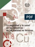 La Seguridad y La Salud en Las Industrias de Los Metales No Ferrosos