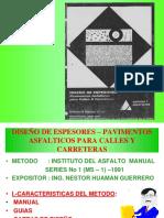 1 Diseño de Espesores-ms-i Instituto Del Asfalto.1991