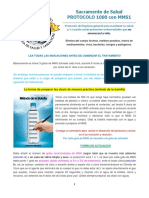 Protocolo 1000 Con MMS Método de La Botella