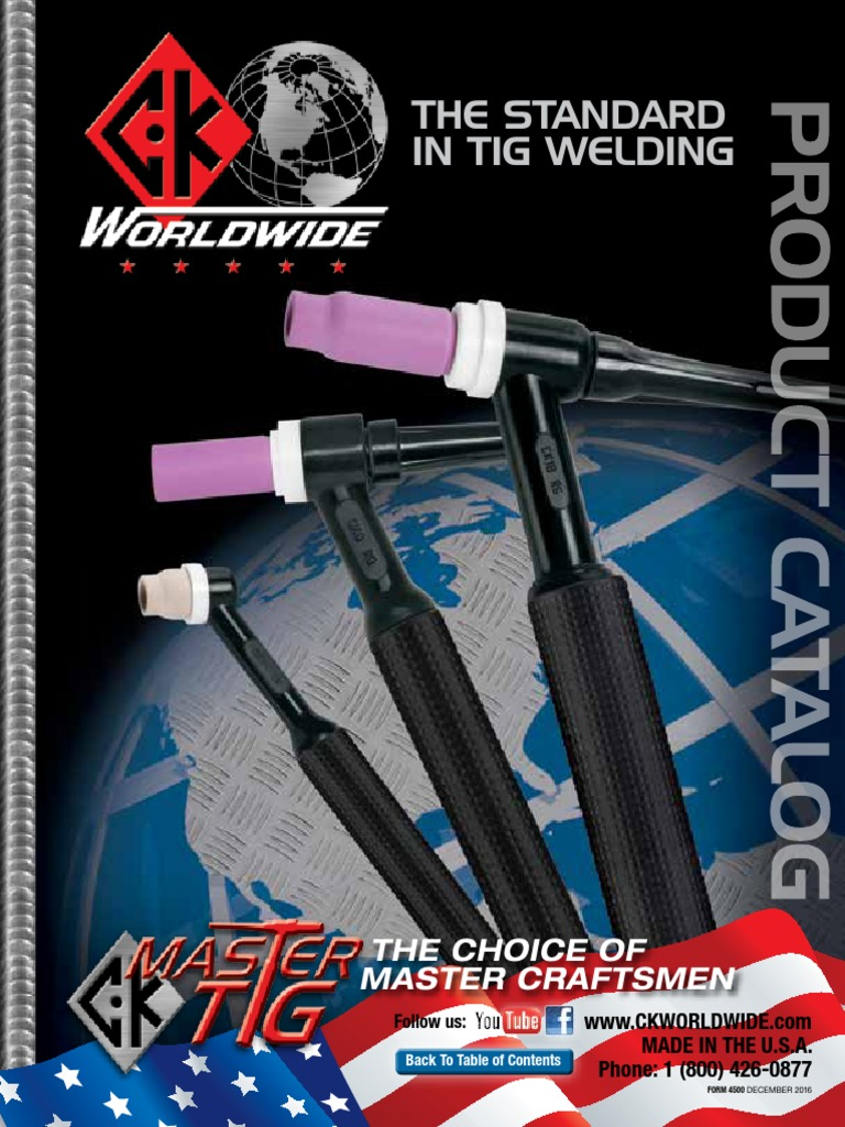 """CK HS Handle for CK TIG Torch Length 5.5/"""" ID .625/"""" OD .750/"""""""