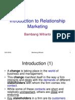 Pemasaran Relasional Pertemuan 2