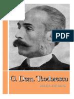 g Dem Teodorescu Biobibliografie
