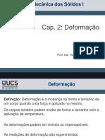Mecanica Dos Solidos i - Deformação