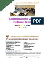 1er. Grado Programación 2015 Actualizado