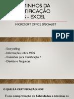 Caminhos Da Certificação MOS - Excel[482]