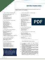 Lista de Grupos Financieros Enero 2018