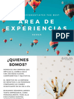 área de experiencias