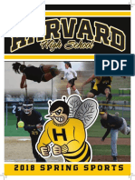 2018 Harvard High School Spring Sports Book