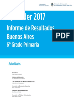 Informe Buenos Aires Nivel primaria 2017