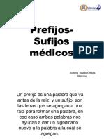 Sufijos-Prefijos medicos