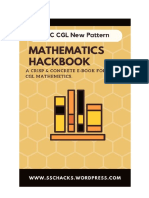 Mathematics Hackbook SSC CGL 1