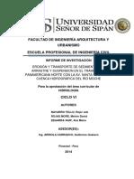 218844006 Erosion y Transporte de Sedimentos de Arratre y Suspension en La Cuenca Del Rio Moche