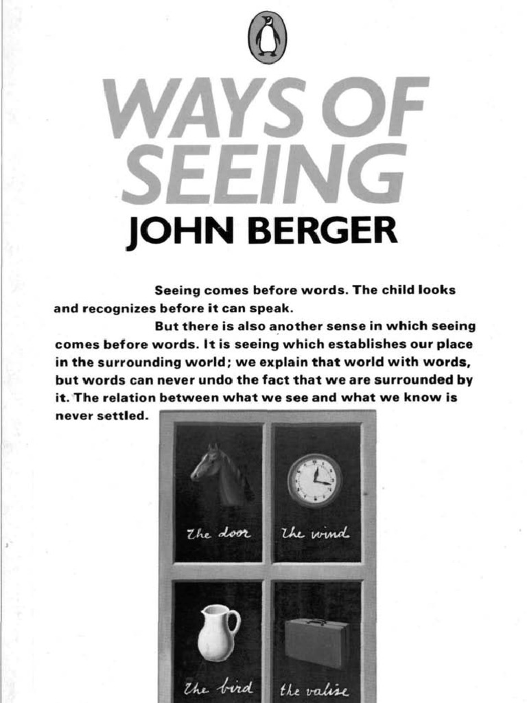 ways of seeing john berger nudity perspective graphical