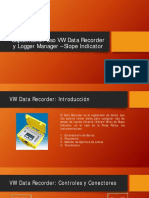 Capacitación Uso VW Data Recorder y Logger Manager