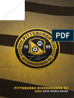 2018 Pittsburgh Riverhounds SC Media Guide
