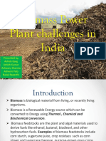 Biomass Power Plant Challenges in India
