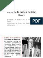 Teoria de La Justicia de John Rawls