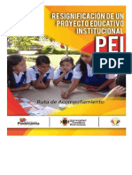 Reesignificacion Del PEI