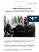 Jorge Luis Borges, 30 Años Después _ Cultura _ EL PAÍS