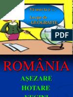 Romania Asezare Hotare Vecini