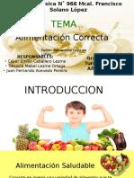 exposicion alimentacion saludable