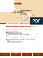 Caucasus Analytical Digest 97