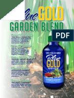Eden Blue Gold Garden Blend