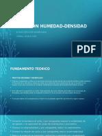 RELACION HUMEDAD-DENSIDAD