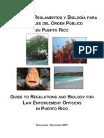 Guia de Los Reglamentos y Biologia Law Enforcement Officers Pr