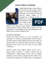 El Beato Federico Ozanam PDF