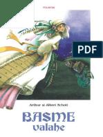 Basme Valahe - Arthur Schott , Albert Schott