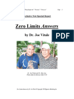 Zero Limits Answers Special Report